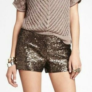 NWT EXPRESS Sequins Shorts 4